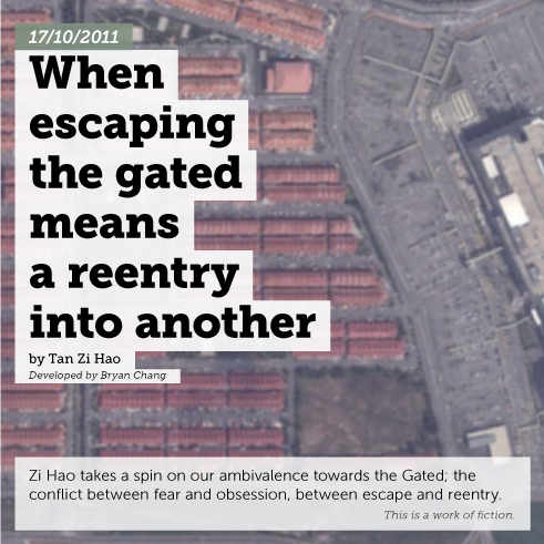 When escaping the gated means a reentry into another